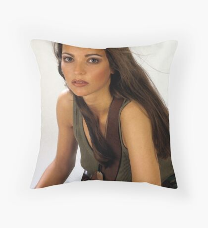 Lesley's Army. Throw Pillow