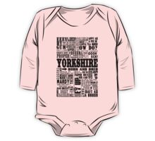 YORKSHIRE SAYINGS One Piece - Long Sleeve