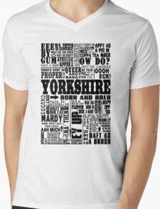 YORKSHIRE SAYINGS Mens V-Neck T-Shirt