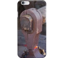 rock and a hot iron iPhone Case/Skin