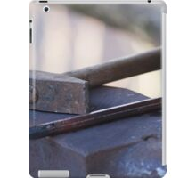 hammer and anvil iPad Case/Skin