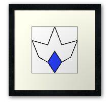Irredeemable: Plutonian symbol Framed Print