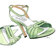 Green Straps by Anthony Billings