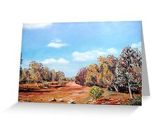 Dry Creek Bed Greeting Card