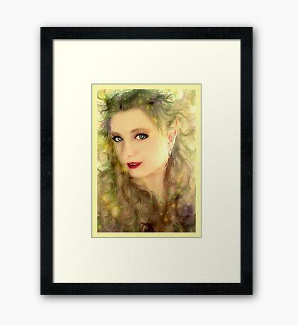 Sunshine Elf Framed Print