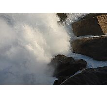Waves on Rocks Photographic Print