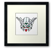 Gundam head Framed Print