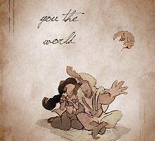Aladdin inspired valentine. by topshelf