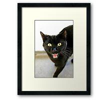 Fangs Mate Framed Print