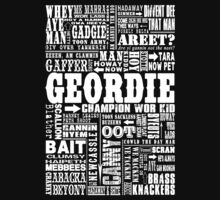 Geordie Sayings Print Kids Clothes