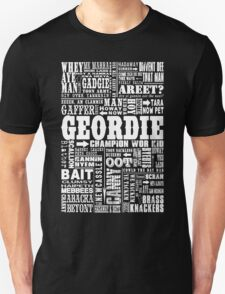 Geordie Sayings Print T-Shirt