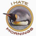 I hate mornings! by Simon Coates