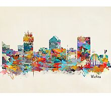 Wichita kansas skyline Photographic Print