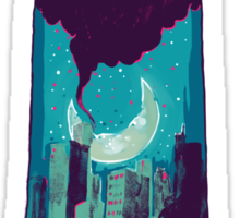 The night is yours Sticker