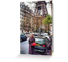 Red Purse Greeting Card