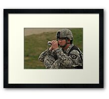 Honey, Wait To You See THIS!!! Framed Print