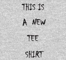 New Tee Shirt  One Piece - Long Sleeve
