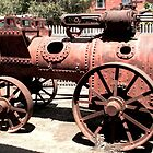 Old Steam Tractor by Tony Waite