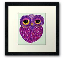 Ophelia In Purple Cloak Framed Print