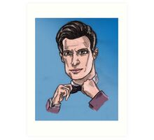 Eleventh Lord of Time Art Print