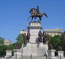 Statue of George Washington at Richmond, Virginia by chord0
