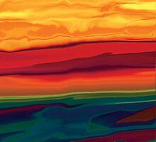 Sunset in Ottawa valley 1 by Rabi Khan