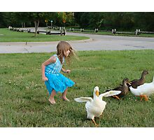 The Ugly Duckling Photographic Print