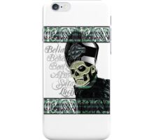 PAPA EMERITUS II - YEAR ZERO - NAMING THE BEAST iPhone Case/Skin