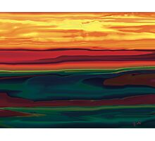 Sunset in Ottawa Valley Photographic Print