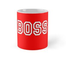 The Boss, Boss, The Govenor, CEO, In charge, The Chief, Obey! On Red Mug