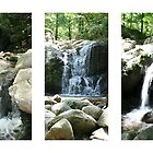 Three Waterfalls, Patapsco, Maryland by Kathryn Short