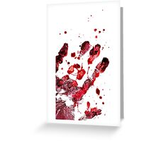 Werther's Hand Greeting Card