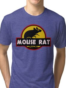 Jurassic Mouse Rat Tri-blend T-Shirt
