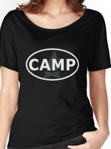Camp Oval Women's Relaxed Fit T-Shirt