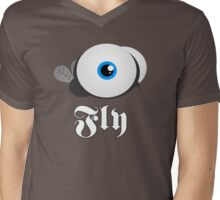 Supa Fly Mens V-Neck T-Shirt