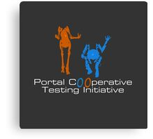 Portal 2 - Cooperative Testing Initiative Canvas Print