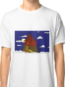 Magical castle in the clouds Classic T-Shirt