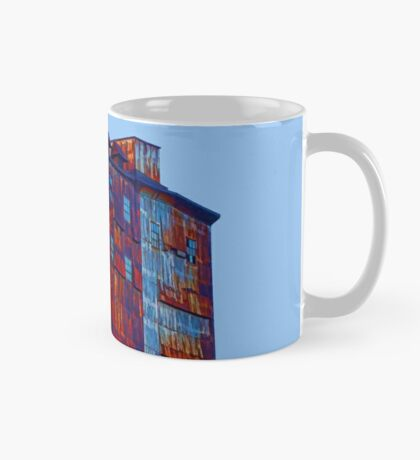 There's a rusty building in town Mug