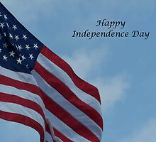 Happy Independence Day by Glenna Walker