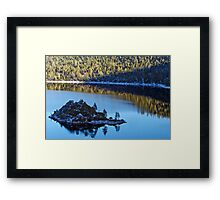 Idyllic Cove Framed Print