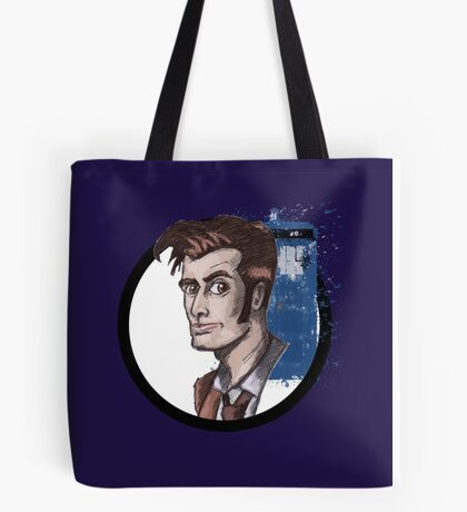 Tenth Lord of Time Tote Bag