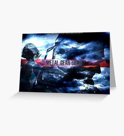 Metal Gear Solid Greeting Card