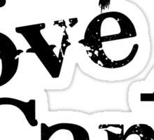 Live, Love, Camp Sticker