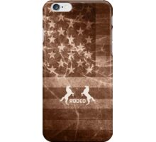 Vintage American Rodeo iPhone Case/Skin