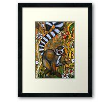 Eden (Ring-Tailed Lemur) Framed Print
