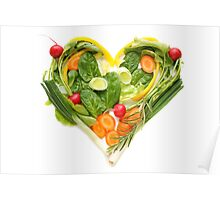 Heart of vegetables! SALE! Poster
