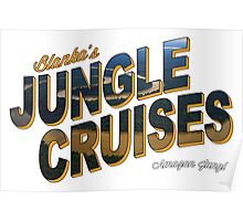 Blanka's Jungle Cruises Poster
