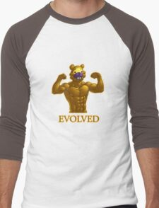 Shiny Bidoof EVOLVED! Men's Baseball ¾ T-Shirt