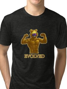 Shiny Bidoof EVOLVED! Tri-blend T-Shirt