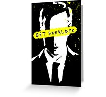 Moriarty Get Sherlock  Greeting Card